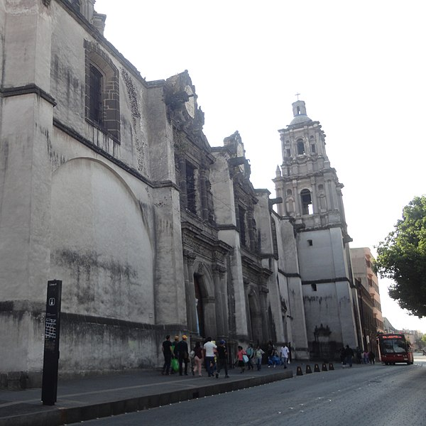 Temple of the Immaculate Conception CDMX