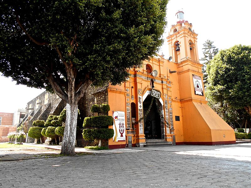 Temple of San_Andres_Totoltepec