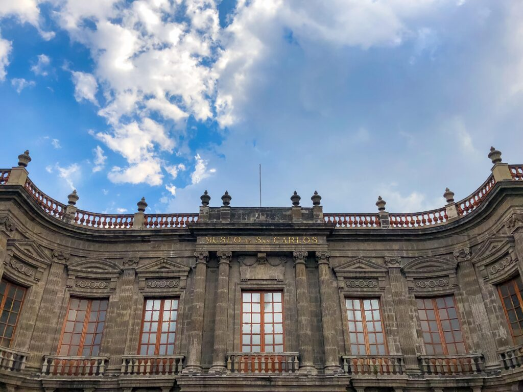 the san carlos museum in Mexico City