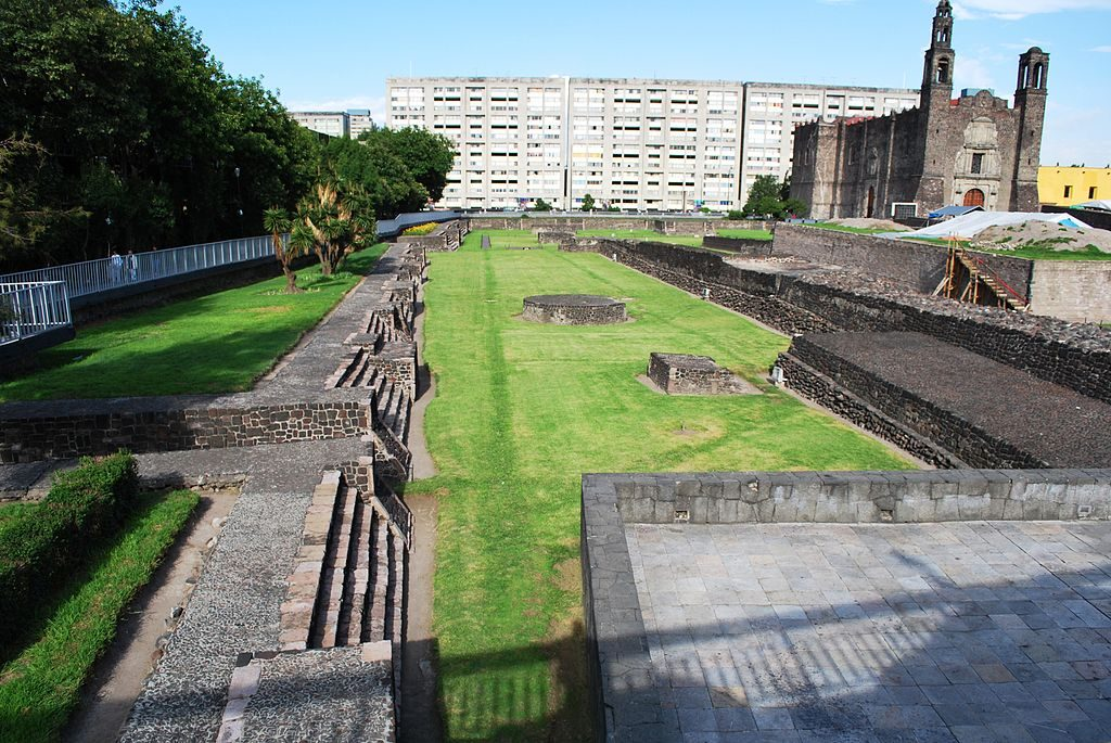 north side of tlatelolco archaeological site