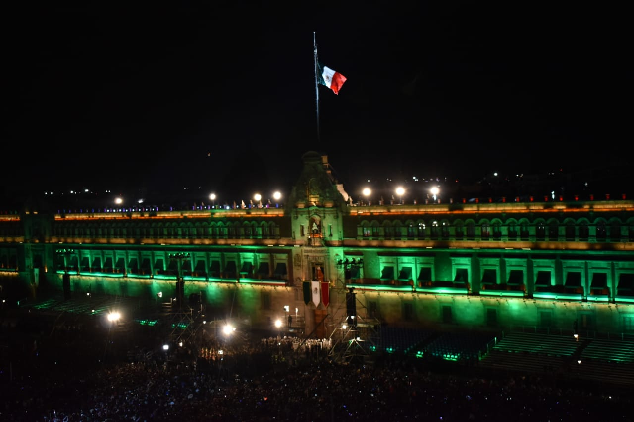 Annual Independence Cry (El Grito): Zocalo