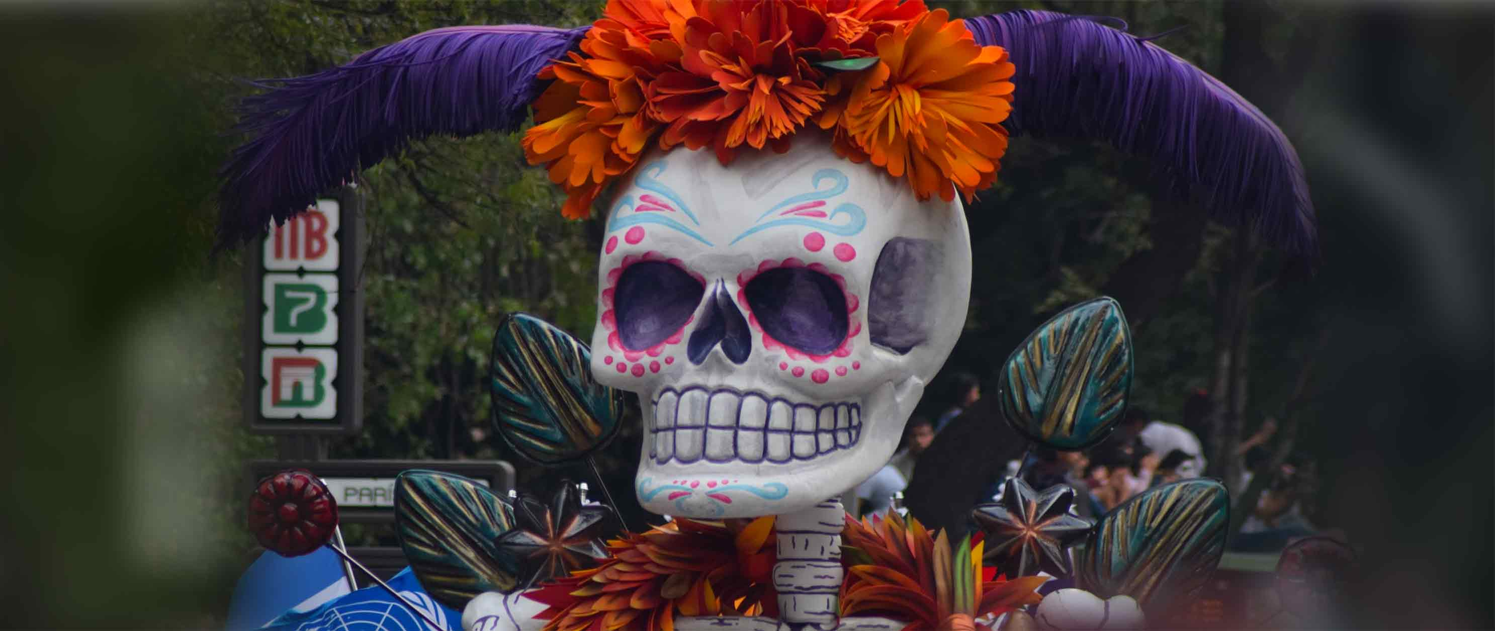 Day of the Dead in Mexico City  >>
