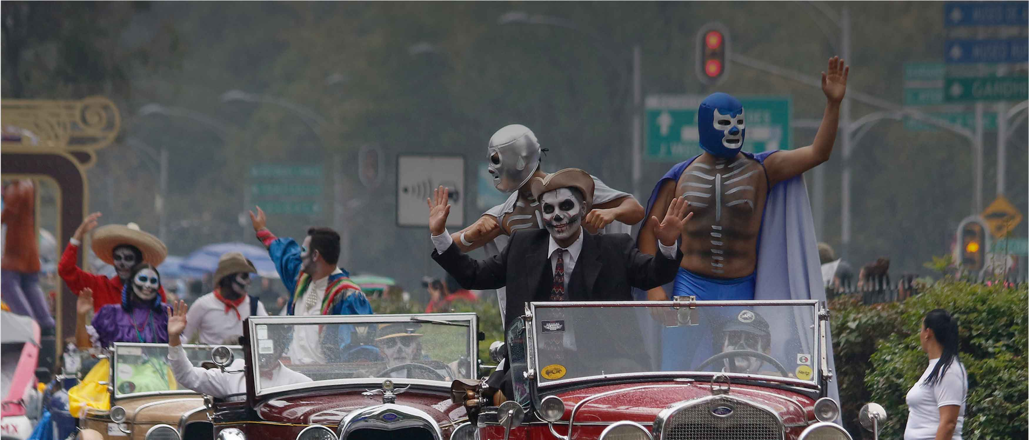 2021 Day of the Dead Parade Rte  >>